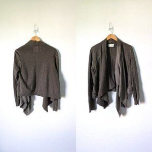Anthropologie Waterfall Cardigan Size Small